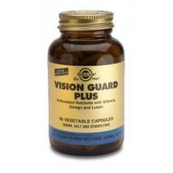 Vision Guard con zinc y luteína 30 cápsulas vegetales, Solgar