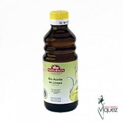 Aceite de lino bio 250 ml, Natursoy