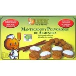 Mantecados sin gluten 450 gr, E.Moreno