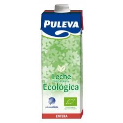 Leche entera bio 1 litro, Puleva