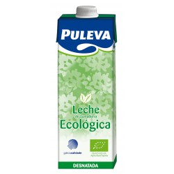 Leche desnatada bio 1 litro, Puleva
