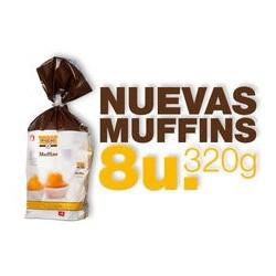 8 Muffins 320 gr, Proceli
