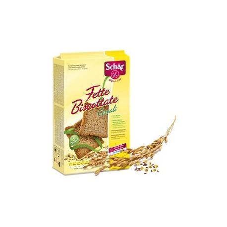 Fette biscottatecereali 250 g (3 x 83 g) Schar