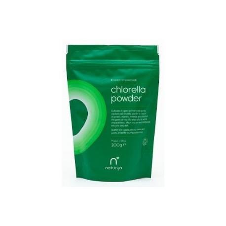 Chlorella Bio en Polvo 200gr Naturya