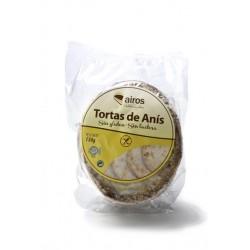 Tortas de anís sin gluten 210grs Airos