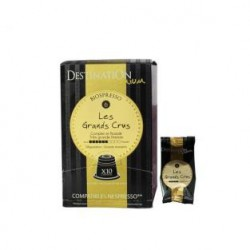 Capsulas café BIO 10x - GRAND CRUS - Destination