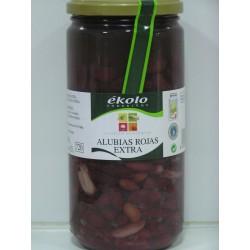 Alubias rojas extra 660 gr, Ekolo