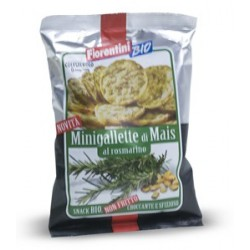 Mini tortitas de maiz con romero 50 gr, Fiorentini