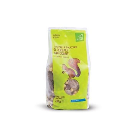 5 Cereales croccanti 300 gr, Ecor