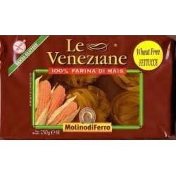 Fettucce sin gluten 250g Le Veneziane