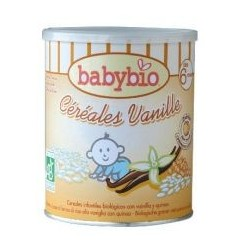 Papilla de cereales y Vainilla 220gr babybio